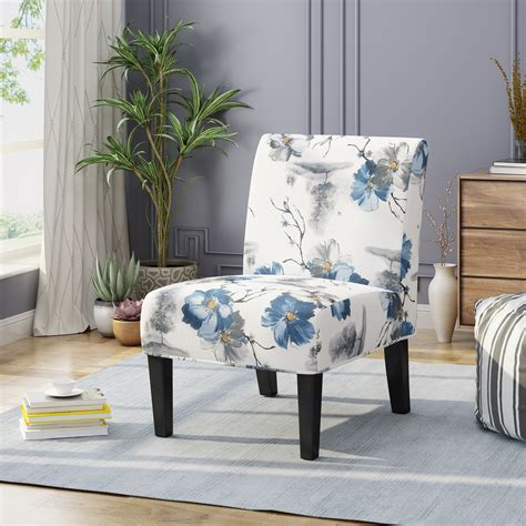 Chalkhill Floral Slipper Chair