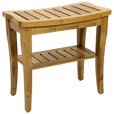 Champaign Bamboo Entryway Bench