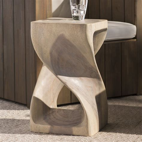 Chandler Twist Stool 20 Agate Grey