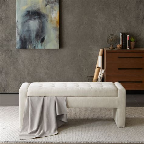 Chandra Upholstered Storage Bench