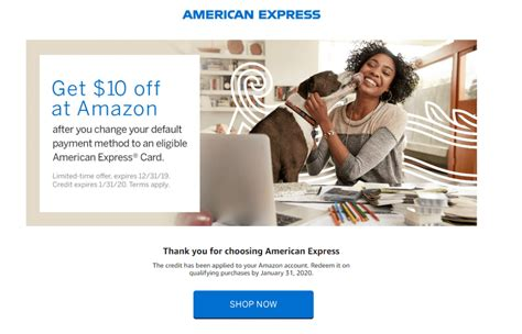 Change Credit Card Amazon One Click Ymmv 10 Amazon Credit When You Change Your 1 Click