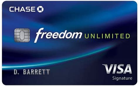 Chase Credit Card With Chase Checking Account Chase Freedom Unlimited Credit Card Chase