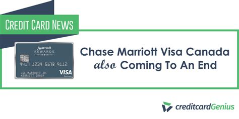 Chase Credit Card Canada Amazon Chase Marriott Visa Canada Also Coming To An End