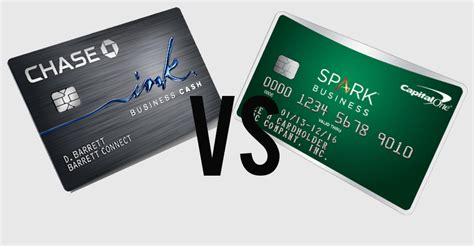 Chase Vs Capital One Business Credit Card Spark Business Credit Cards Capital One