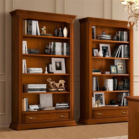 cheap cherry wood bookcase