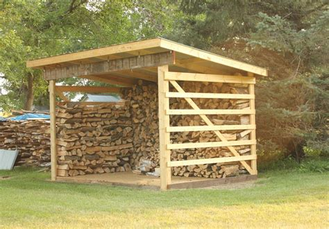 Cheap Firewood Shed