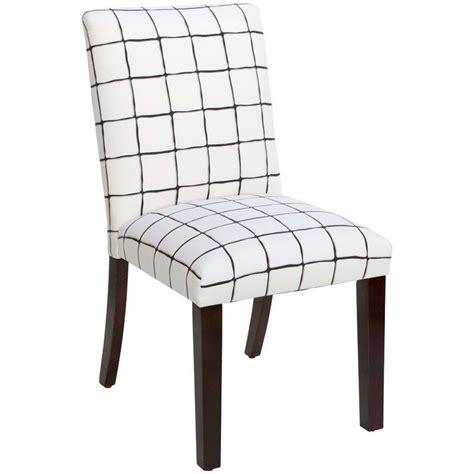 Cheeseman Check Parsons Chair
