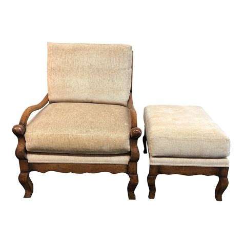 Chenille Mission Armchair
