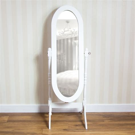 Cheval Mirror White  Ebay.