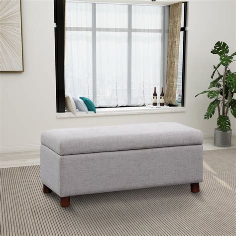 Chevalier Upholstered Storage Bench
