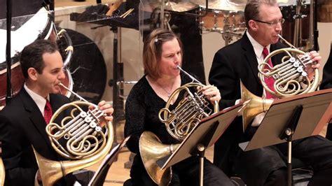 Brass Chicago Symphony Brass Section.
