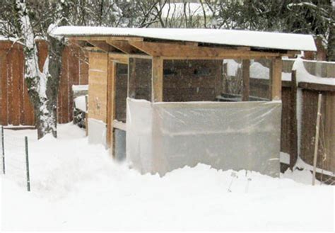 Chicken Coop Design Cold Winter