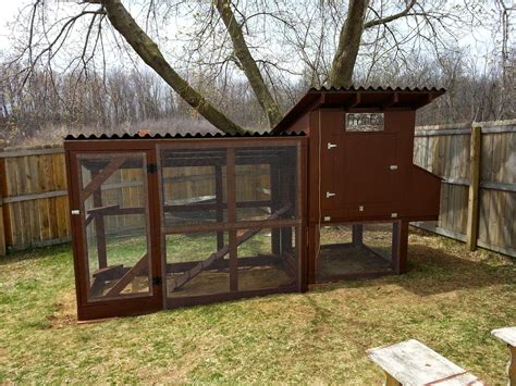 Chicken Coop Design For Easy Cleaning