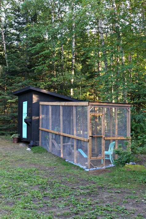 Chicken Coop Run Diy