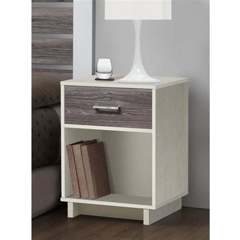 Chicopee Modern 1 Drawer Nightstand