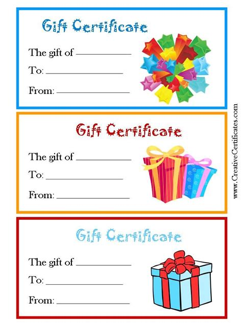 Child gift certificate template example resume kindergarten teacher child gift certificate template gift certificate templates to make your own certificates yelopaper Image collections