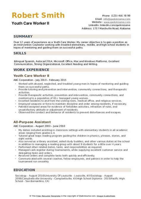 96+ Direct Care Worker Resume Sample - Cv Childcare Child Care ...