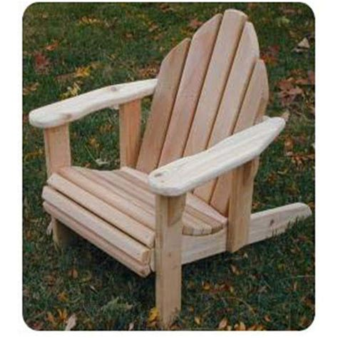 Child Size Adirondack Chair Plans