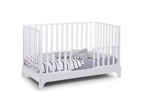 Childhome Babybett Maxi Weiß Blau 70x140cm Umbaubar Zum Junior Bett