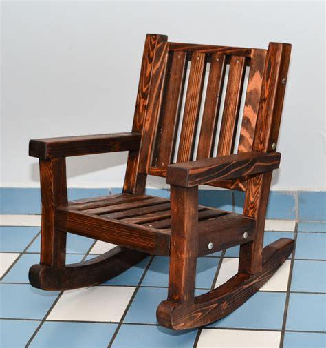 Childrens Wooden Rocking Chair