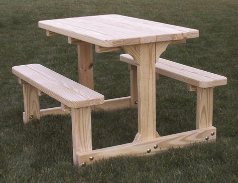 Childs Wooden Picnic Table