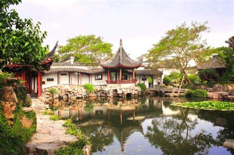 China Garten Gestalten