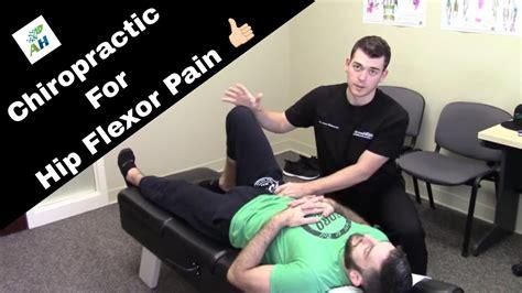 chiropractic for hip flexor