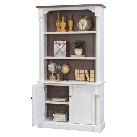 Chmura Bookcase with Lower Doors