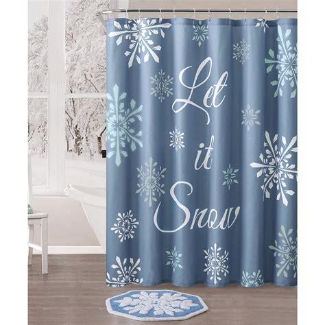 Christmas Snow 72 Shower Curtain
