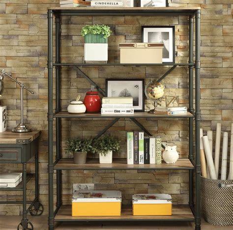 Christofor Metal Frame Standard Bookcase