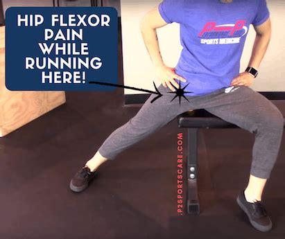 chronic hip flexor soreness from running