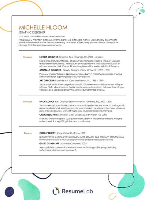 chronological resume template google docs use google docs resume templates for a free good looking - Free Resume Templates Google Docs