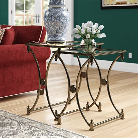 Chrystal 2 Piece Nesting Tables