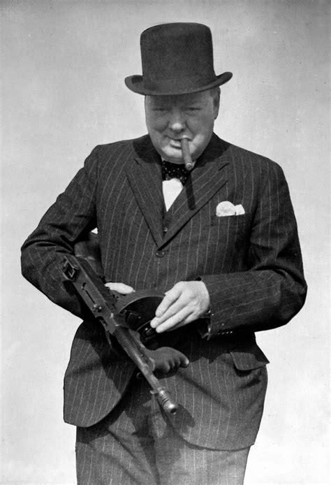 Tommy-Gun Churchill Tommy Gun Photo.