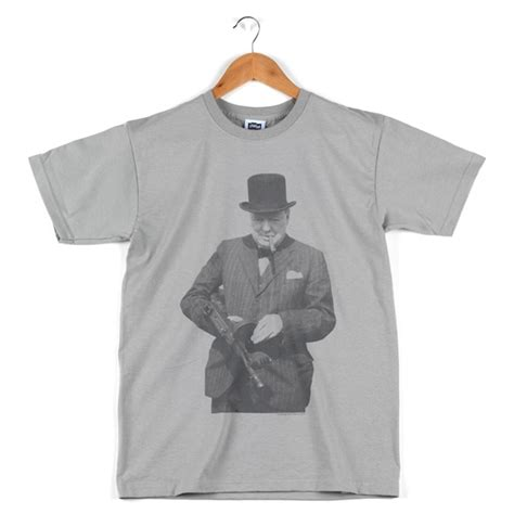 Tommy-Gun Churchill Tommy Gun T Shirt.