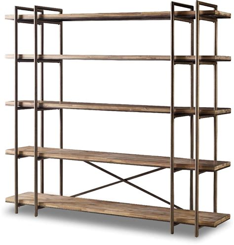 Cifuentes Dual Etagere Bookcase