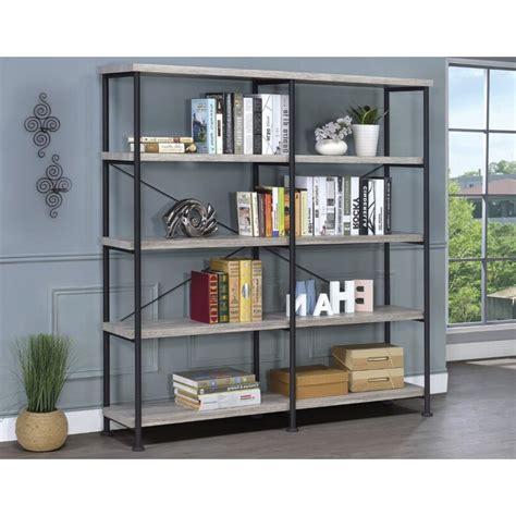 Cifuentes Dual Etagere Bookcase