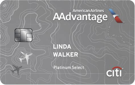 Citi Card Offers American Airlines Citir Aadvantager Platinum Selectr World American