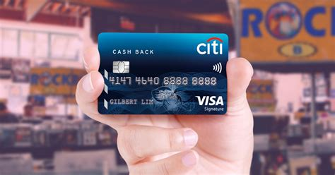 Citibank Credit Card Citi Cash Back Card Credit Card With Citibank Singapore