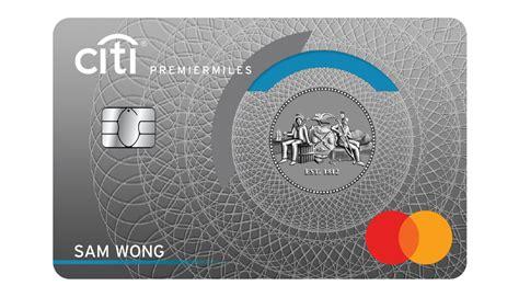 Credit Cards Under Citibank Citi Premiermiles Visa Card Credit Cards