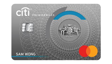 Citibank Credit Card Qantas Frequent Flyer Citi Premiermiles Visa Card Air Miles Credit Card With