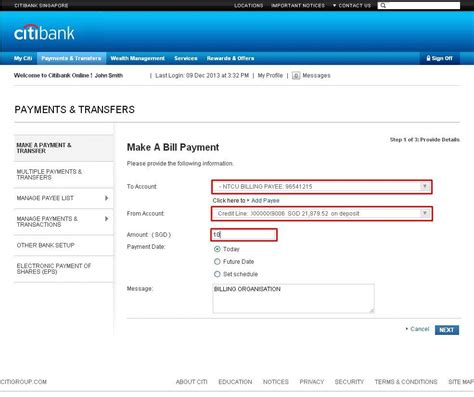 Citibank Credit Card Generate Atm Pin Citibank Online Internet Banking Citibank Singapore