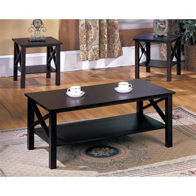 Claborn 2 Piece Coffee Table Set
