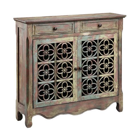 Cladius 2 Drawer 2 Door Accent Cabinet