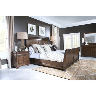 Clarendon Sleigh Configurable Bedroom Set byBeachcrest Home