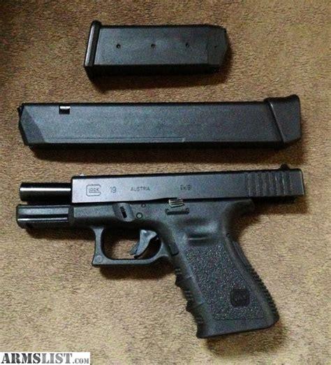 Glock-19 Clean Glock 19 Gen 3.