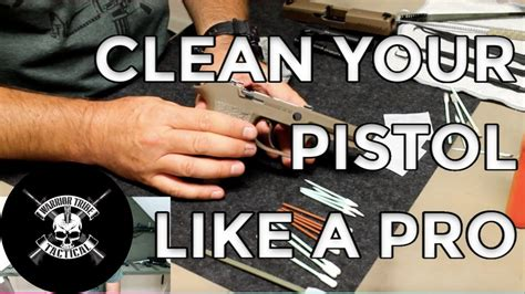 Sig-P320 Cleaning My Sig P320.