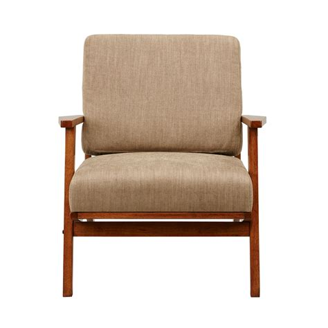 Clear Creek Exposed Wood Armchair