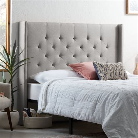 Clearmont Upholstered Wingback Headboard