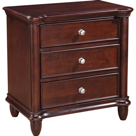 Cleckley 3 Drawer Nightstand